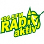 Logo da emissora Radio Aktiv 106.5 FM