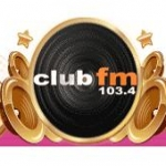 Logo da emissora Club FM 103.4