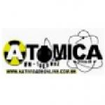 Logo da emissora R�dio At�mica 100.9 FM