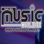 Logo da emissora Rádio Web Music Online