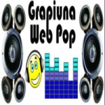 Logo da emissora Rádio Grapiúna Pop