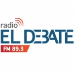 Logo da emissora Radio El Debate 89.3 FM