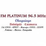 Logo da emissora Radio Platinum 96.5 FM