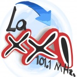 Logo da emissora Radio La XXI 101.1 FM