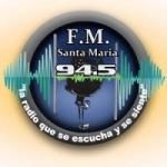 Logo da emissora Radio Santa María 94.5 FM