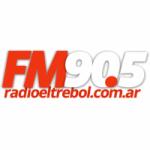 Logo da emissora Radio El Trébol 90.5 FM