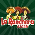 Logo da emissora KHJ 930 AM La Ranchera