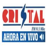 Logo da emissora Radio Cristal 91.5 FM