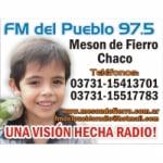 Logo da emissora Radio Del Pueblo 97.5 FM