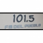 Logo da emissora Radio Del Pueblo 101.5 FM