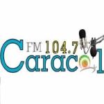 Logo da emissora Radio Caracol 104.7 FM