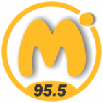 Logo da emissora Radio M�xima 95.5 FM