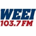 Logo da emissora Radio WEEI 103.7 FM