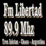 Logo da emissora Radio Libertad 89.9 FM