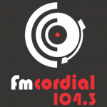 Logo da emissora Radio Cordial 104.3 FM