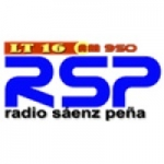 Logo da emissora Radio S�enz Pe�a 950 AM