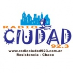 Logo da emissora Radio Ciudad 92.3 FM