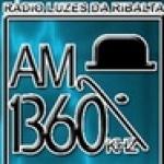 Logo da emissora R�dio Luzes da Ribalta 1360 AM