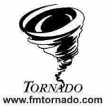 Logo da emissora Radio Tornado 97.5 FM