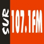 Logo da emissora Radio Sur 107.1 FM