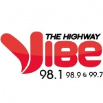 Logo da emissora KHWY 98.9 FM The Highway Vibe