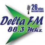 Logo da emissora Radio Delta 88.3 FM
