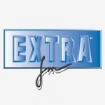 Logo da emissora Extra 107.2 FM