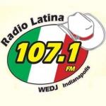 Logo da emissora Radio WEDJ Latina 107.1 FM