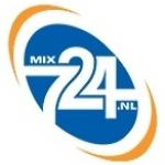 Logo da emissora MIX 724 107.4 FM