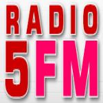 Logo da emissora Radio 5 107 FM