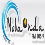 Logo da emissora Rádio Nova Onda 105.9 FM