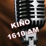 Logo da emissora Radio KINO 1610 AM