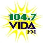 Logo da emissora Radio Vida 104.7 FM