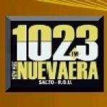 Logo da emissora Radio Nueva Era 102.3 FM
