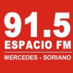 Logo da emissora Radio Espacio 91.5 FM