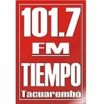 Logo da emissora Radio Tiempo 101.7 FM