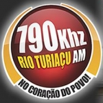Logo da emissora Rádio Rio Turiaçu 790 AM