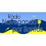 Logo da emissora Rádio Navegando por Santos