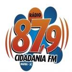 Logo da emissora R�dio Cidadania 87.9 FM