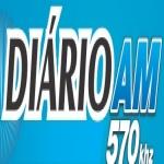 Logo da emissora Rádio Diário 570 AM