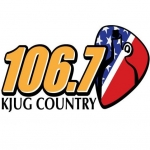 Logo da emissora Radio KJUG 106.7 FM