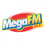 Logo da emissora Rádio Mega 87.9 FM
