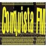Logo da emissora Rádio Conquista 104.9 FM