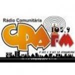 Logo da emissora R�dio CPA 105.9 FM