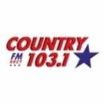 Logo da emissora KKCY 103.1 FM Country