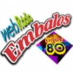 Logo da emissora Embalos Anos 80