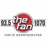 Logo da emissora Radio WFNI The Fan 93.5 FM 1070 AM