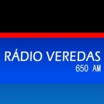 Logo da emissora R�dio Veredas 650 AM