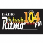 Logo da emissora Rádio Ritmo 104.7 FM