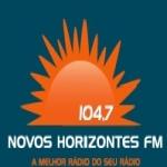 Logo da emissora R�dio Novos Horizontes 104.7 FM